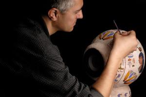 Kézműves díszítésű hangfalak