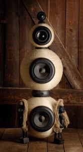 Afrikai stílusú kézműves hangfal