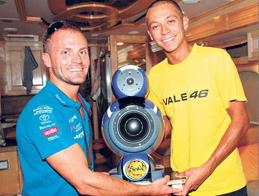 Valentino Rossi Art&Voice hangfala