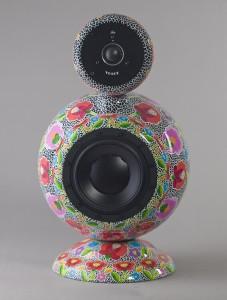 Kézzel festett design hangfal